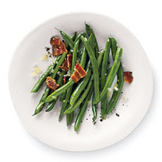Peppery Bacon Green Beans
