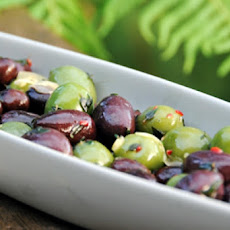 Citrus-Marinated Olives