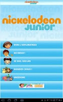 Screenshot of NICKELODEON JUNIOR
