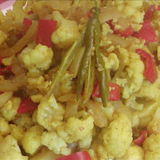 Curried Cauliflower Florets (sweet  & Spicy)