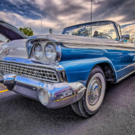 Classic Convertible by Ron Meyers - Transportation Automobiles
