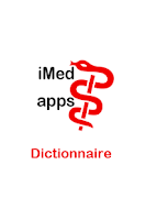Screenshot of Dictionnaire médical