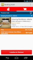 Screenshot of Booking Hotel