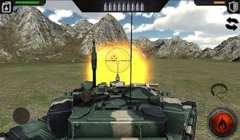 Screenshot of Tank Warfare 3D