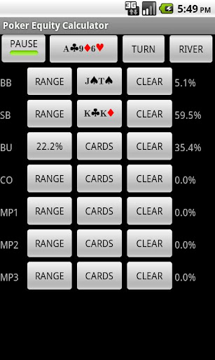 無料纸牌AppのPoker Equity Calculator|記事Game