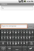 Screenshot of Coptic Keyboard