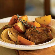 Braised Herb Chicken Thighs with Potatoes