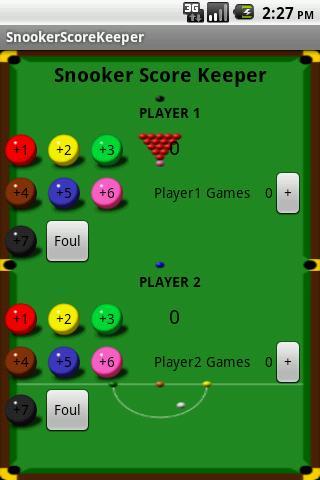 Snooker Score Keeper