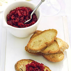 Duck & Beetroot Toasts