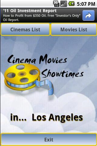 Cinema Movies Showtimes