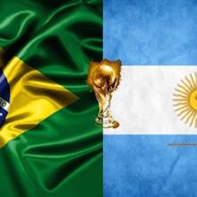 World-Cup Tasting ArgentinaVs Brazil