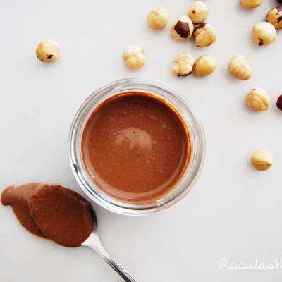 Hazelnut and cocoa butter (healthy Nutella)