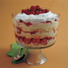 Strawberry and Cream Trifle