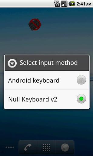 Bluetooth Null Keyboard