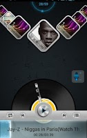 Screenshot of Next Music Widget