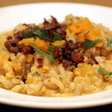 Wonderful Winter Squash Risotto
