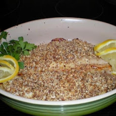 Macadamia Nut Crust for Fish-Mahi Mahi, Salmon, Swordfish, Orange Roughy