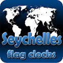 Seychelles flag clocks icon
