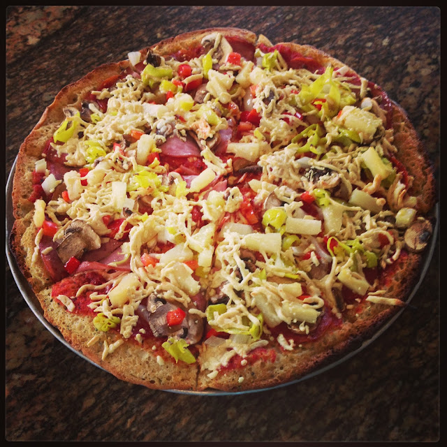 Vegan/Gluten Free Pizza