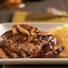 Herbed Pork with Sauteed Wild Mushrooms