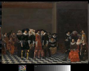 RIJKS: Willem Cornelisz. Duyster: painting 1625
