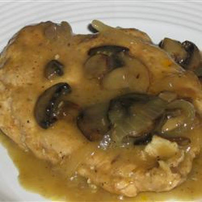 Slow Cooker Chicken with Mushroom Sauce
