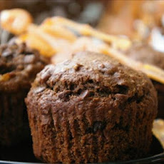 Cocoa Applesauce-Raisin Muffins