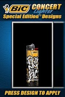 Screenshot of BIC® Concert Lighter