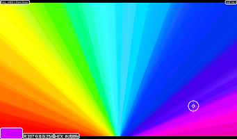 Screenshot of Advanced RGB HEX Color Picker