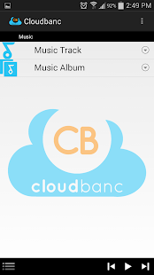 Cloudbanc Media App - screenshot