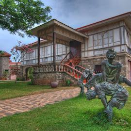 by Victor Roman - Buildings & Architecture Statues & Monuments ( statue, las casas, d300, nikon, bataan,  )