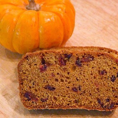 Cranberry- Pumpkin Bread