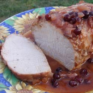 Slow Cooker Cranberry Pork