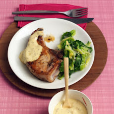 Apricot-Mustard Sauce with Pork Chops