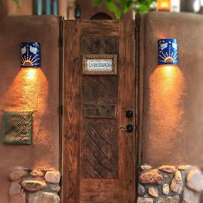 Luminaria by Flavio Mini - Buildings & Architecture Architectural Detail ( detail, door, architecture, santa fe, new mexico,  )