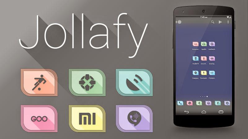 Jollafy - HD Icon Pack Screenshot 4