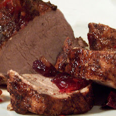 Cinnamon-Cranberry Pork Tenderloin