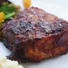 Sticky Pork BBQ Ribs