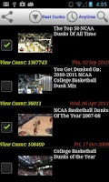 Screenshot of College Basketball NEWS Center
