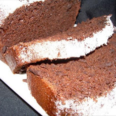 Luscious Low Fat Chocolate Pound Cake