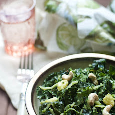 Savory Raw Kale Salad