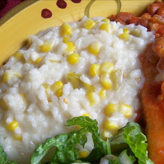Quick Mexican Corn Risotto