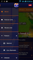 Screenshot of Geo News