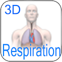 3D Respiration icon