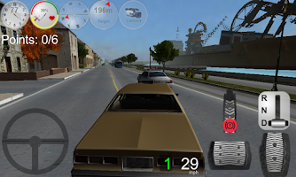 Screenshot of Duty Driver Taxi FULL