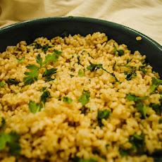Cilantro Brown Rice