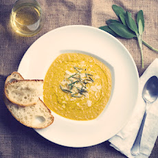 Tuscan White Bean Soup with Sage