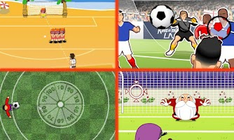 Screenshot of Soccer games free