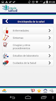 Screenshot of Guía Salud
