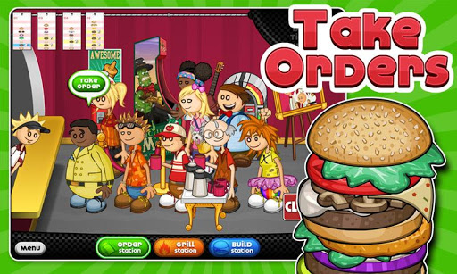 Papas Burgeria For Android Version Free Download Apps - Papa louie cuisine
